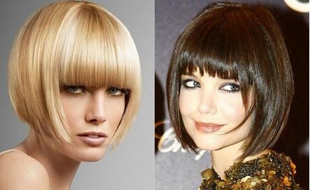 Katy Holmes, Short Hair, Fringe